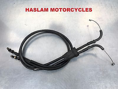 triumph daytona 600 650 2003 - 2005 throttle cables