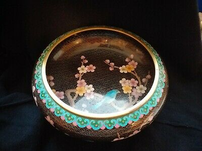 A Vintage Chinese Cloisonne Bowl
