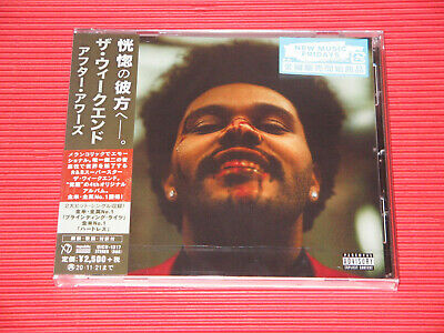 2020 WEEKND After Hours  JAPAN CD