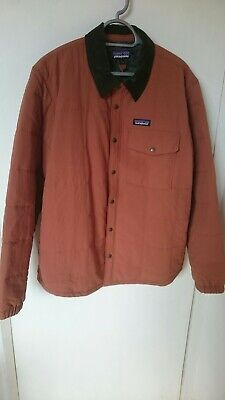 PATAGONIA ISTHMUS QUILTED SHIRT JACKET Large New Without Tags