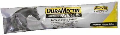 Duramectin Wormer Paste For Horses  Removes Worms and Bots