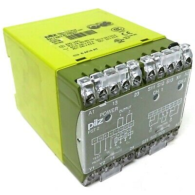 Safety Relay 420150 Pilz PST 2 230VAC **EOL** *New*