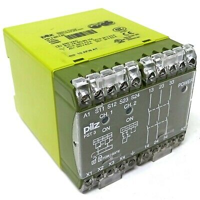 Safety Relay 420250 Pilz PST 3 230VAC *New*