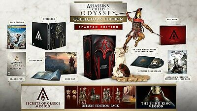 Assassin's Creed Odyssey - Spartan Edition inc. Ultimate Edition (Xbox One) OVP!