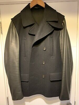 All Saints Glade Pea Coat Extra Large