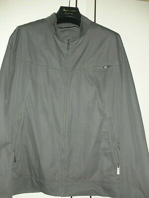 Calvin Klein  Mens Zipped  Jacket in Grey  size   XL