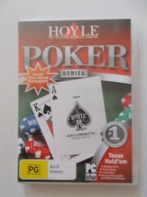 + Poker Series Texas Hold Em [Pc Cd-Rom] By Hoyle [Aussie Seller]
