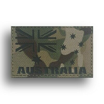 Tactical IR Reflective ANF Australian Army Flag Patch Multicam. ADF