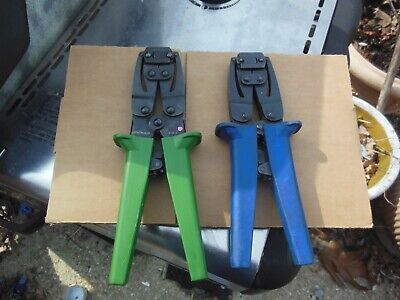 two conta clip crimpers 1100-0 and other