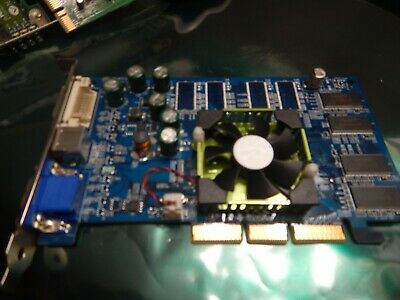 NVIDIA GeForce FX5200 Graphics Card Mac A146 180-10146-0000-A01 ADC//DVI AGP PRO