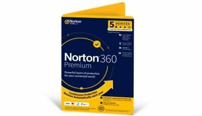 Norton 360 Premium 100GB 5 Devices 1 Year