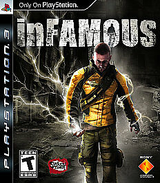 NEW inFamous (Sony PlayStation 3, 2009)