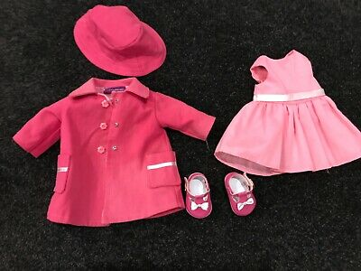 My London Girl outfit (pink dress, coat, hat, shoes) - hard to find