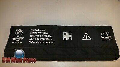 BMW Genuine Emergency Bag with Triangle & Hi Vis 80262210667