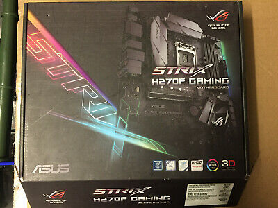 Intel Core I5 7400 3.0Ghz CPU + ASUS ROG Strix H270F Gaming Mother Board combo