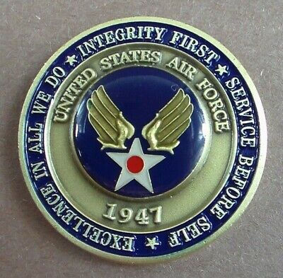 USAF  Awarded On The Occasion Of Becoming An Airman Challenge Coin  USA US