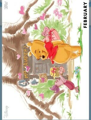 Topps Disney Collect - Winnie the Pooh February VIP Seasons DIGITAL