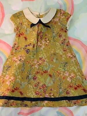 Next Size 2 - 3 Girls Dress Floral Ombre Stretch