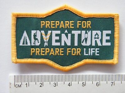 Prepare for ADVENTURE, Prepare for LIFE, Scout Badge
