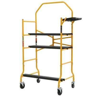 MetalTech Jobsite Series 5 ft x 4 ft. x 2-1/2 ft. Scaffold 900 lbs Load Capacity