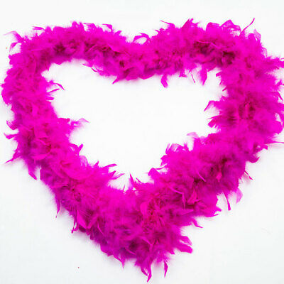 Fluffy Feather Boa Strip Fancy Makeup Party Wedding Xmas Decoration 2M