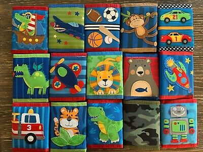 Stephen Joseph Kids Wallet- BOYS- PICK YOUR FAVORITE!!  **new & discontinued!!