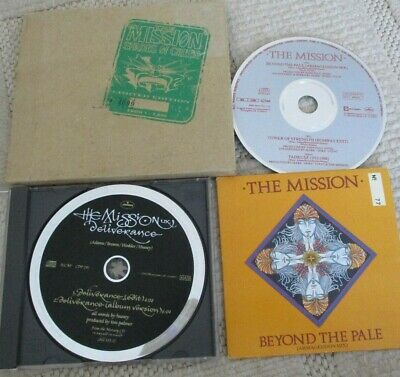 The Mission cd's- Beyond the Pale & Shades of Green -both numbered & deliverance