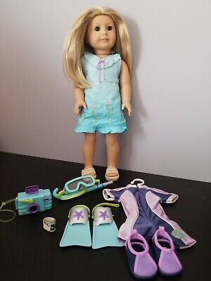 Retired American Girl Doll Kailey Girl of The Year 2003 Clothing Accessories