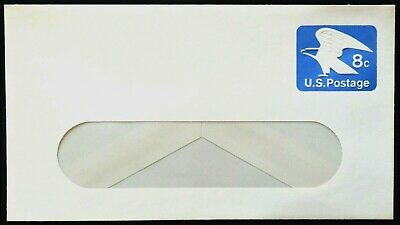 1971 US Sc. #U557 stamped window envelope, 8 cent mint entire, very nice