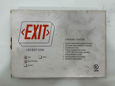 Thomas & Betts LED Self-Powered Exit Sign QLXN500R