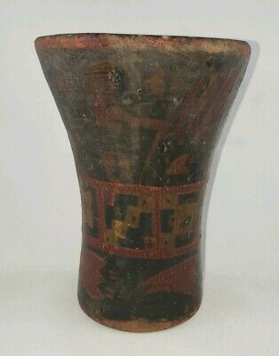 Ancient INCA Kero , Precolumbian, Moche, Mayan MAKE AN OFFER