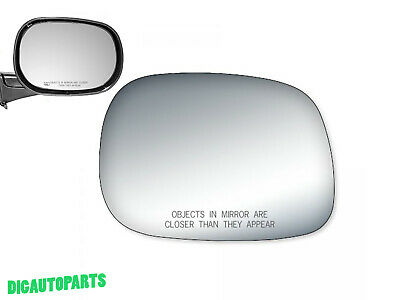Burco 5331 Convex Passenger Side Replacement Mirror Glass for 2002-2008 MINI COOPER