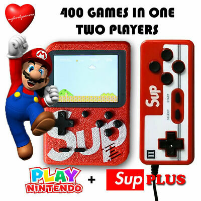 SUP Built-in 400 Classic Games Mini TV Handheld Game Box Console With Controller