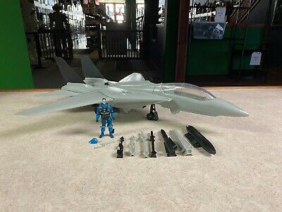 GI Joe Cobra Sky Striker Rattler Tomahawk All Ships Acrylic Display Stand TALL