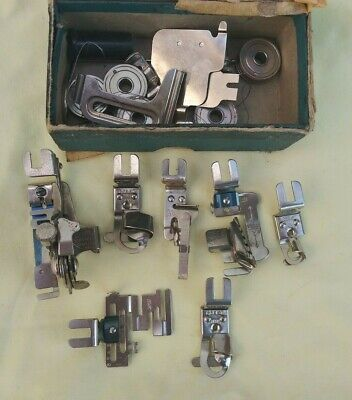 Greist Sewing Machine Attachments and More - Narrow Hemmer, 5 Stitch Ruffler