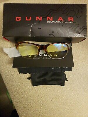 Gunnar Optiks CYP-02301 Gaming and Computer Eyewear Glasses Cypher  Amber Tint