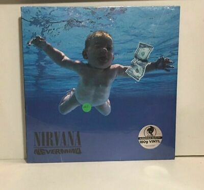 Nirvana - Nevermind SEALED re issue vinyl LP