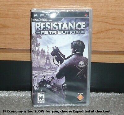 PSP - RESISTANCE: RETRIBUTION (Brand NEW Sealed) NTSC CDN Seller RARE OOP MISB