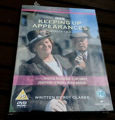 KEEPING UP APPEARANCES Complete Original Series 1+ 2 DVD Boxset Hyacinth Bucket