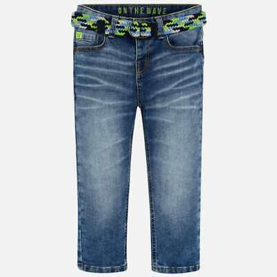 New Mayoral Boys loose fit jeans with belt, Age 2 years (3537)