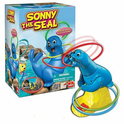 """Sonny The Seal"" ring toss game"