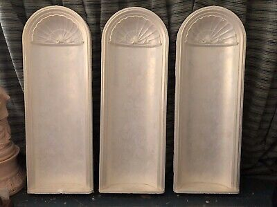 Vintage Original Queenslander Plaster Wall Niche Architectural Feature Moulding