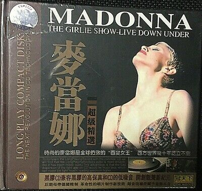 Madonna ‎– The Girlie Show-Live Down Under The Luxe Hard - CD Digipack - SEALED