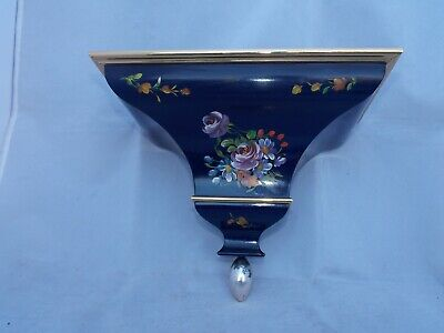 Very Beautiful Hand Painted Wall Hanging Bracket For Bracket Clock.