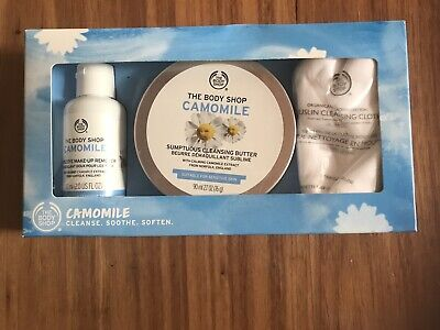New The Body Shop Camomille 123 Kit-cleanse Sooth Soften