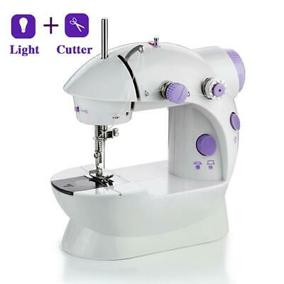 Mini Desktop Sewing Machine Household Tailor Lightweight with LED Light