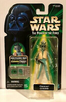 "Vintage 90/'s Hasbro Kenner Star Wars POTF Commtech 3.75/"" Figures Loose//Packaged"