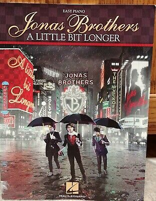 Jonas Brothers Happiness Begins Sheet Music Piano Vocal Guitar Book 000300594