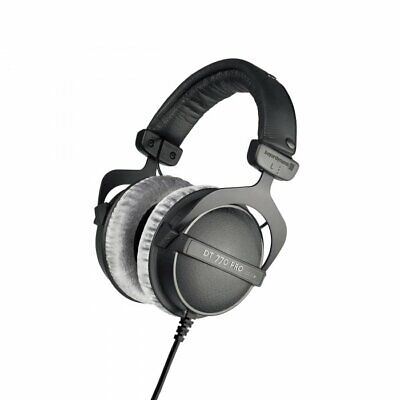 beyerdynamic DT 770 Pro 250 Ohm Studio Reference Headphones Closed Back Black