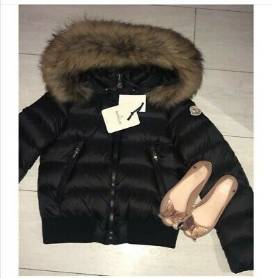 Girls Moncler Coat Aged 10 (age 8) RRP: £450